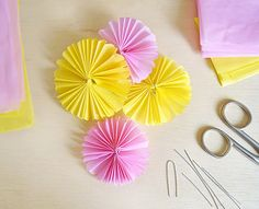 PAP: Flores de papel de seda | BoniFrati