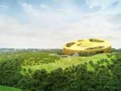Assembly Hall Gabon by Work Architecture Company