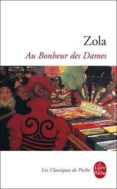 Au bonheur des dames, Émile Zola -- re-reading Reading Lists, Book Lists, Emile Zola, Dear Santa, Book Recommendations, Book Design, Audio Books, Books To Read, Libros