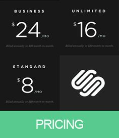 Squarespace web application builder pricing review
