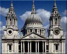 England - St. Paul's Cathedral in London,