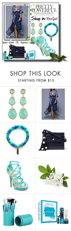 """""""Rosegal"""" by melee-879 ❤ liked on Polyvore featuring Rivka Friedman, Elizabeth and James and Wild Diva"""