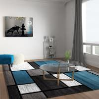 Modern area Rugs for Living Room. 20 Beautiful Modern area Rugs for Living Room. Contemporary Modern Boxes Blue Grey area Rug 7 10 X 10 2 7 X 10 Contemporary Area Rugs, Modern Area Rugs, Modern Contemporary, Large Living Room Rugs, Walmart, Color Turquesa, Online Home Decor Stores, Online Shopping, Home Interior