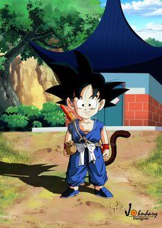 Dragon Ball Z - Kid Goku Follow me on Instagram:www.instagram.com/johndarydesi…