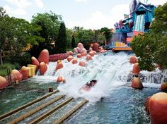 dudly doo rights rip saw falls islands of adventure Universal Studios Orlando #florida