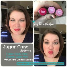 Sugar Cane LipSense is a CUSTOM LipColor created by layering two 2018 Limited Edition colors from the Wonderland Collection: Sugar Plum and Candy Cane. Perfect soft red for ANY day . . . Great stocking stuffers and girlfriend gifts. Click the pic to purchase yours before they are gone! #sugarplum #candycane #lipsense #senegence #wonderlandcollection #newlipsense