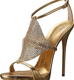 Giuseppe Zanotti Women's E50307 Metallic Pump  #Fashion