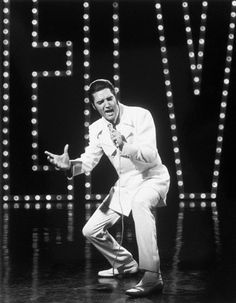 Elvis. Comeback Special... Got to fly to Cali and see him film part of this....SE
