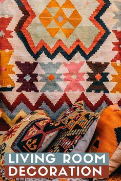 Living Room Decoration | Living Room | Decor | Organization | Budget Friendly | Home Decor | Gypsy Decor, Hippie Home Decor, Hippie Art, Hippie Style, Boho Decor, Bohemian Style, Gypsy Living, Bohemian Living, Budget Organization