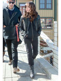 Ellen Page at Sundance 2013