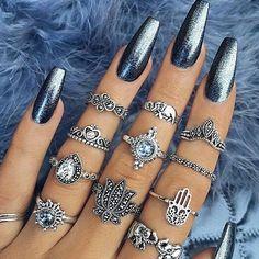 #boho #rings #jewelry