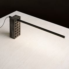 This lamp is a nod to the brick – beautiful in its own right. Aesthetically blunt yet stylish and functional, the Brick Lamp is an adjustable LED task lamp for your desk or shelf.Explore more designs byPhilippe Malouin on his websiteor follow @philpm