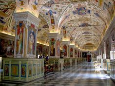 "See 8913 photos from 81454 visitors about sistine chapel, tours, and scenic views. ""Metro, trains & buses are available between Rome & Vatican. Le Vatican, Vatican Library, City Library, Dream Library, Library Design, Libreria El Ateneo, Vatican Secret Archives, Rome, Santa Sede"