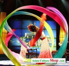 silk ribbon dance