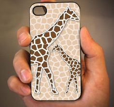 Giraffe animal - iPhone 4 Case, iPhone 4s i almost want to buy and iPhone just so i can have this case...
