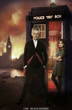 The 12th Doctor and Clara