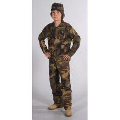 Déguisement Militaire Deluxe Enfant