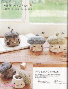 Acorns mushrooms