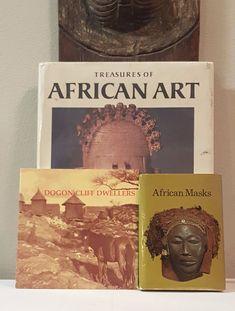 www.TribalExotics.com  fine Tribal African Art tribalexoticse2 tribalexoticse1 on eBay Mask Masks Figure Figures  Scultpure Sculptures Statue Statues  Tribal Exotics African Art book bundle - (3) Dogon Mask Figure Sculpture Statue