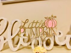 Excited to share this item from my #etsy shop: Pumpkin Cake Topper .Pumpkin Birthday .Our Little Pumpkin turning One. Autumn,fall Pumpkin Patch Birthday, Pumpkin First Birthday, Gold First Birthday, 1st Birthday Banners, Gold Birthday Party, Little Girl Birthday, Birthday Ideas, Pumpkin 1st Birthdays, Pumpkin Birthday Parties