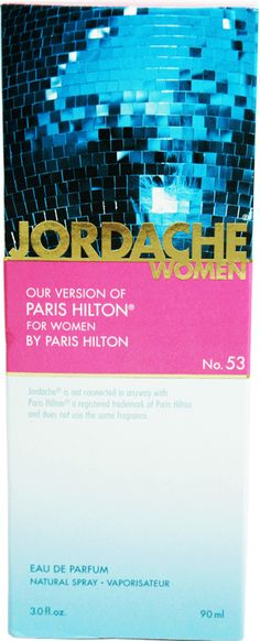 Jordache version of Paris Hilton for women from 99 Cents Only Store