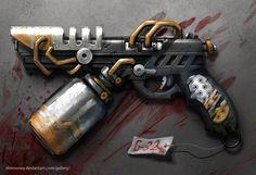 district 9 handgun- G32 by dinmoney.deviantart.com on @deviantART