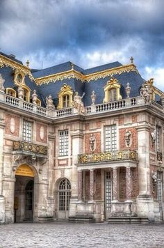 The Main Palace at Versailles, Paris