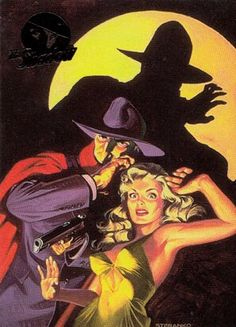 """twofistedpulp: """"The Shadow by Jim Steranko. """""""