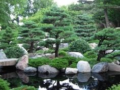 Japanese Stone Garden Design In japanese garden design.