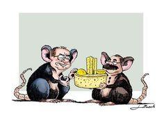 Ratos em revezamento