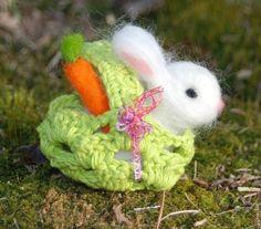 lapin de Pâques DIY très sympa avec une carotte