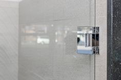 180 Degree Shower Door Hinge Eclipse Glass-Port Moody Showroom