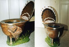 The best toilet ever for turkey hunters...or Thanksgiving enthusiasts.
