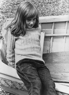 Diana..William looks like her in this shot. There another of her when she was young that Harry favors.