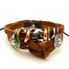 leather, knots, rings...