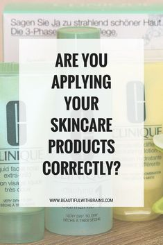 how to apply your skincare products correctly #skincarescience #beautyscience #skincaretip #skincarejunkie #beautychat