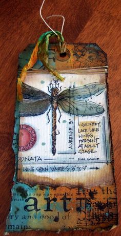 Tim Holtz tag 12 tags of 2013 My tag for June timholtz.com