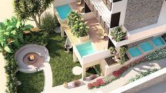 GRAMMIKI A | Architecture + Design Studio |  Σχεδιασμός και διακόσμηση Ξ... Outdoor Furniture Sets, Outdoor Decor, Home Decor, Decoration Home, Room Decor, Home Interior Design, Home Decoration, Interior Design