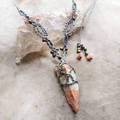 Celestobarite amulet