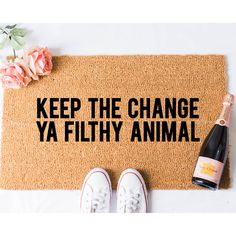 Keep the Change Door