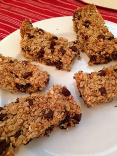 Homemade granola bars!  For a mid day snack, this is so much cheaper then buying them in the stores!