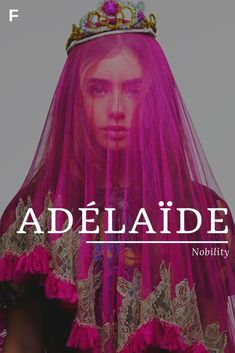 Adelaide meaning Nobility French names A baby girl names A baby names female nam. - Baby Showers Adelaide meaning Nobility French names A baby girl names A baby names female nam Strong Baby Names, Baby Girl Names Unique, Unisex Baby Names, Names Girl, Kid Names, Names Baby, Unique Baby, Unique Female Names, Girl Names With Meaning