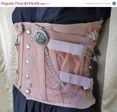 Steampunk underbust corset