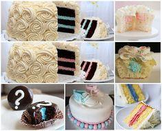Novidade: Chá de Revelação! | Arte em Bolos - Bolos decorados para festas, doces e cupcakes