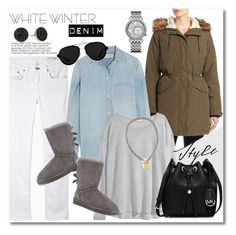 """""""Get the look"""" by vkmd ❤ liked on Polyvore featuring moda, Cole Haan, rag & bone/JEAN, Madewell, H&M, UGG Australia, MICHAEL Michael Kors, Marc by Marc Jacobs, 3.1 Phillip Lim y Juicy Couture"""