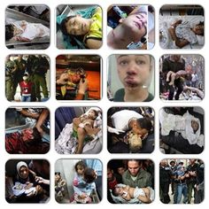 innocent child in Gaza