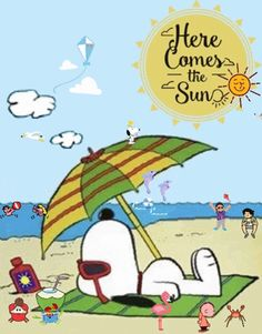 Discover & share this Gif Here Comes Sun Beach Snoopy Friends GIF with everyone you know. GIPHY is how you search, share, discover, and create GIFs. Snoopy Cartoon, Snoopy Comics, Peanuts Cartoon, Peanuts Snoopy, Snoopy Images, Snoopy Pictures, Funny Pictures, Meu Amigo Charlie Brown, Charlie Brown And Snoopy