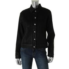 Miraclebody Womens Rebel Denim Coated Jacket