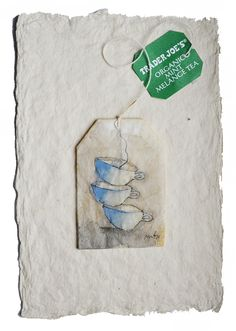 Painted tea bags www.rubysilvious.com