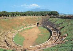 Stage 8: Amphitheatre Pompeii